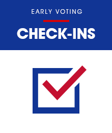 Early Voting Check-ins