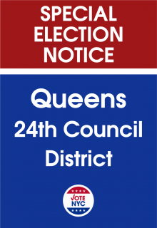 Queens 24th Council District Special Election