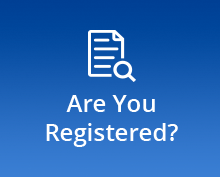 Are you Registered banner